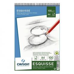 Blok ESQUISSE A4/ 100 g/ 70...