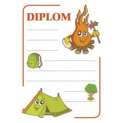 Diplom A4 - táborový