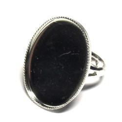 Prsten bezel - ovál 25 x 18 mm