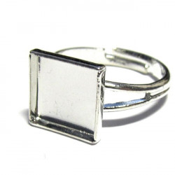 Prsten bezel - čtverec malý