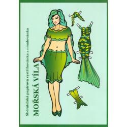 Oblékací panenka - Mořská víla