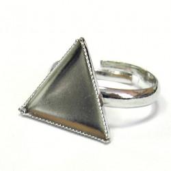 Prsten bezel - trojúhelník