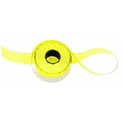 Etiketa 26 x 12 mm UNI (žlutá)
