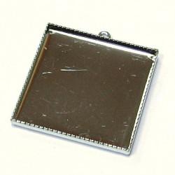 Lůžko čtverec - 25 mm - 1 oko