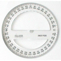 Úhloměr KTR 360°/100,...