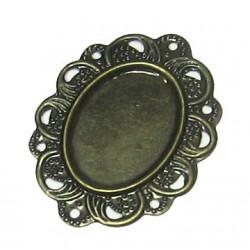 Okrasné lůžko - antik bronz 5