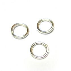 Kroužek 5 mm (stříbrná)