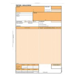 Faktura - daňový doklad A4