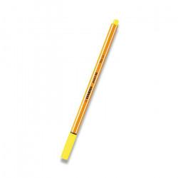 Liner STABILO 0,4 (žlutý neon)