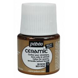 Ceramic 45 ml (jasně zlatá)