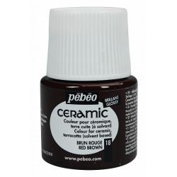 Ceramic 45 ml (červenohnědá)