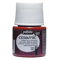 Ceramic 45 ml (rubínově...