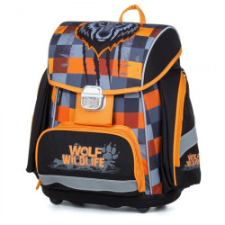 Batoh školní PREMIUM Vlk