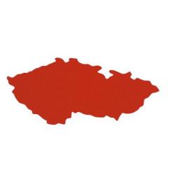 Obrysová mapka ČR, PP