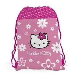Sáček na cvičky Hello Kitty