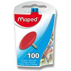 Připínáčky MAPED, barevný...