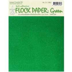 Sametový samolepicí papír -...