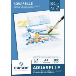 Blok akvarel A4, 300 g/10...
