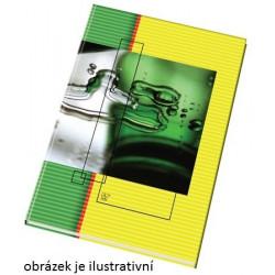Záznamní kniha A4, čtverec,...