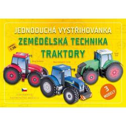 Vystřihovánky - Traktory