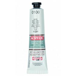 Akrylová barva 40 ml (bílá...