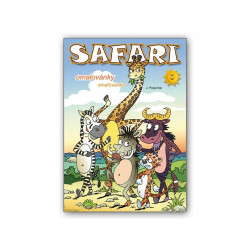 Omalovánky A4 SAFARI