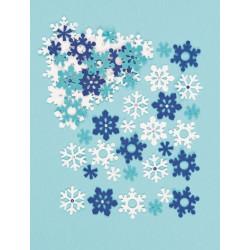 Filcové samolepky - Sněhové...