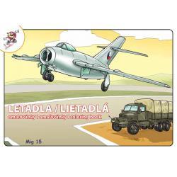 Omalovánky A5 - LETADLA