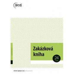 Zakázková kniha A4 (Optys)