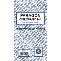 Paragon číslovaný 1+1
