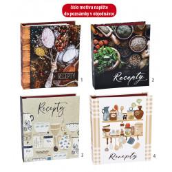 Kniha na recepty, A5/...