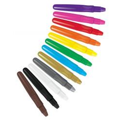 Colorino voskovky Silky, 12...