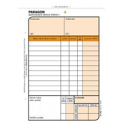 Paragon - daňový doklad A6,...